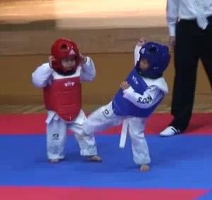 The-Cutest-Taekwondo-Match-Ever